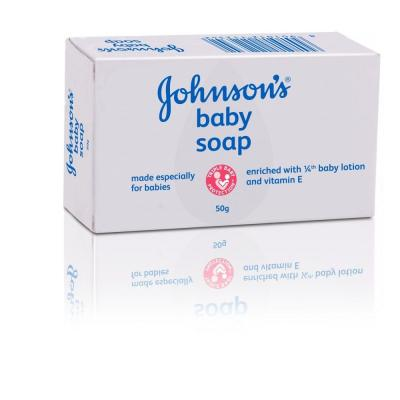 Johnsons Baby Soap 50g
