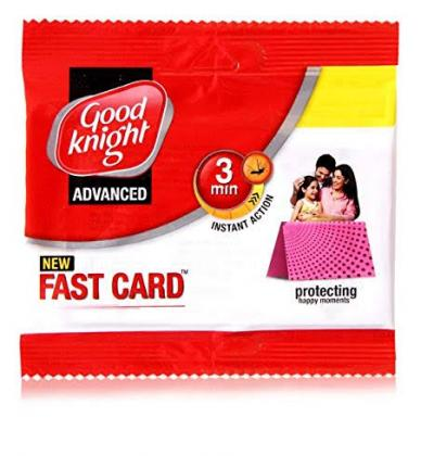 Good Knight Advanced Fast Card - 10 Units 5pkt