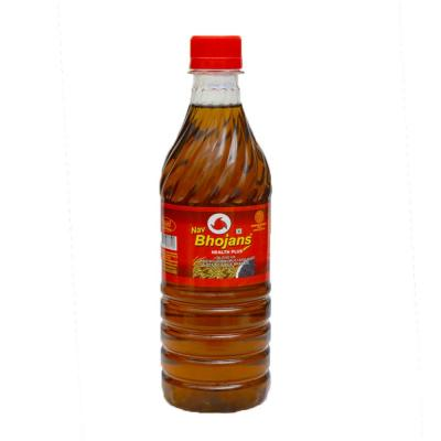 Bhojans Kachi Ghani Pure Mustard Oil 500ml bottol