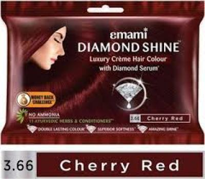 Emami Diamond Shine Chery Red Semi Permanent Hair Color