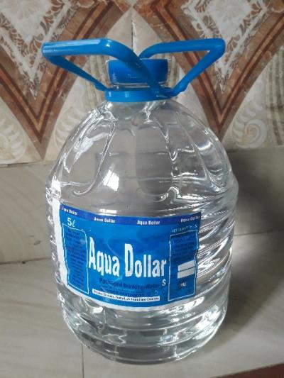 Aqua dollars 5 liter bottle