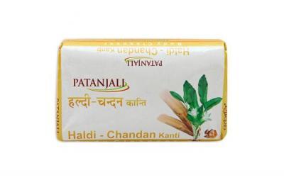 Patanjali Haldi Chandan Soap- 150g