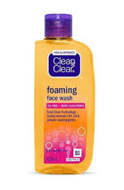 Clean & Clear Foaming Face Wash 100ml