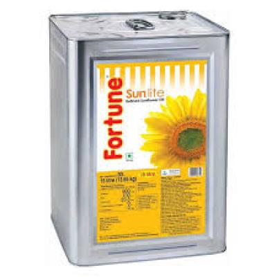 Fortune Refined Sunflower Oil Tin
