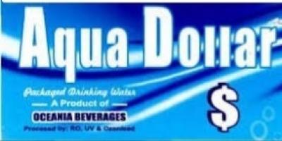 Aqua Dollar 1 litre water Bottle 12 pis pack