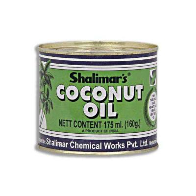 Shalimar's Coconut Oil Tin 175ml
