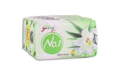 Godrej No.1 Aloe Vera And White Lily Soap 4x100g