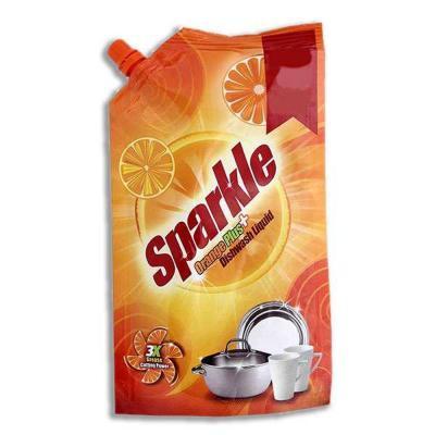 Sparkle Orange Plus Dishwash Liquid 130ml