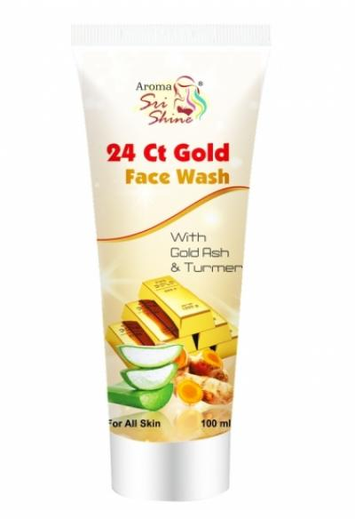 24 Ct. Gold Face Wash 100ml