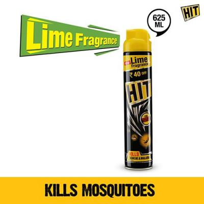 HIT Spray Flying Insect Killer- Lime, 625 ml