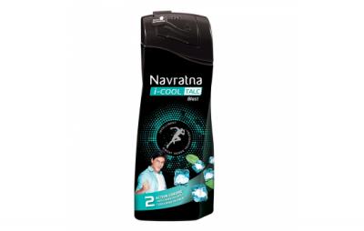 Navratan I Cool Talc Blast 400g