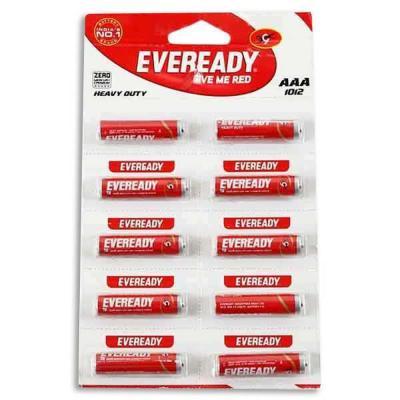 Eveready 1012 Battery AAA 10 U (units)